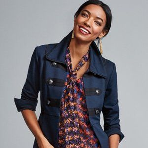 Cabi In the Band Blazer Jacket Navy